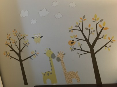 Nursery Giraffes